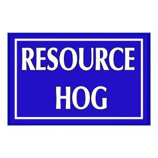 Resource Hog Flyers