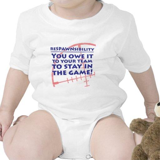 Respawnsibility - FPS Baby Bodysuit