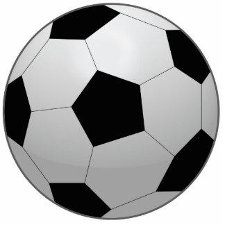 Respect All Fear None Soccer Ball Photo Cutout