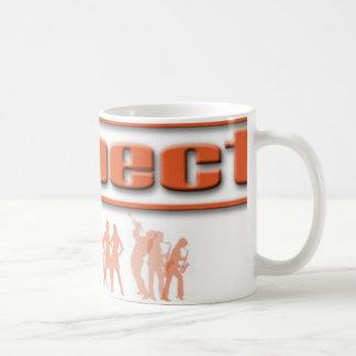 respect band coffee mug