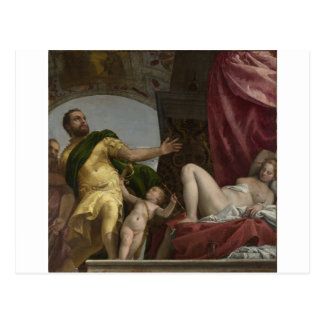 Respect by Paolo Veronese Postcard