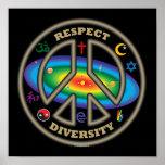 respect diversity blk posters