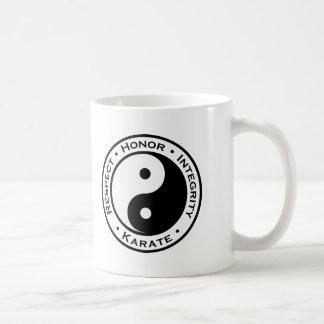 Respect Honor Integrity Karate Basic White Mug