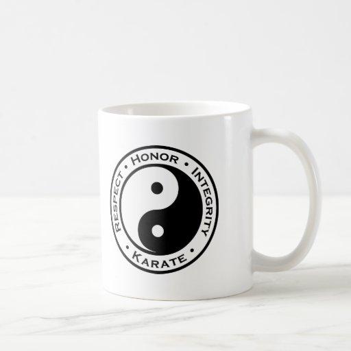Respect Honor Integrity Karate Mugs