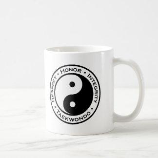 Respect Honor Integrity Taekwondo Basic White Mug