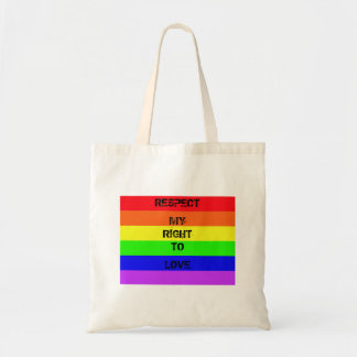 Respect Love Budget Tote Bag
