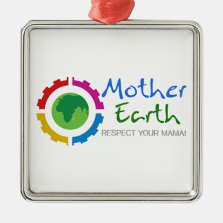 Respect Mother Earth Christmas Ornament