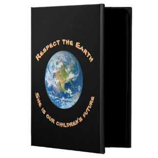 Respect Planet Earth Future Powis iPad Air 2 Case