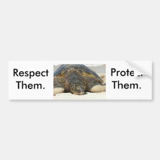 Respect. Protect. Bumper Sticker