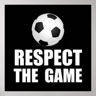 Respect Soccer Poster