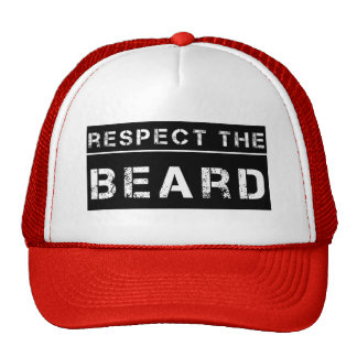 Respect the Beard Funny saying Cap