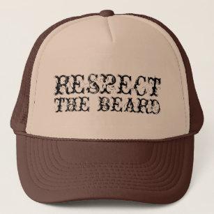 5b01cbeaad4 Respect the beard trucker hat for men