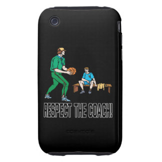 Respect The Coach Tough iPhone 3 Covers
