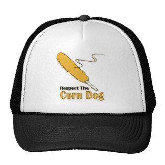 Respect The Corn Dog? Trucker Hat