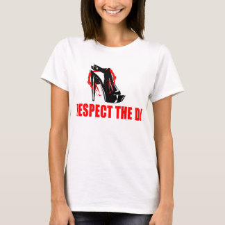 Respect The Female DJs T-Shirt