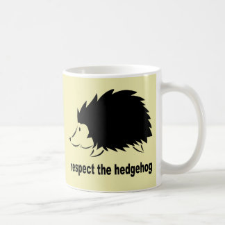 Respect The Hedgehog Coffee Mug