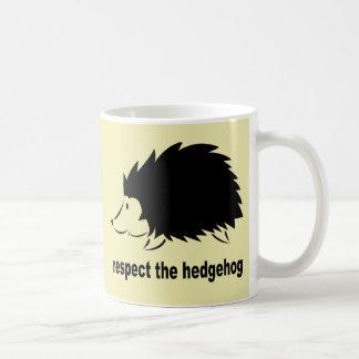 Respect The Hedgehog Mugs