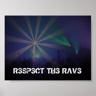 Respect the Rave Print