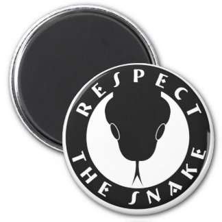 Respect The Snake Magnet