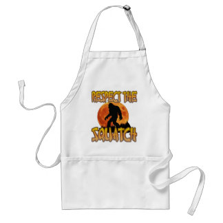 Respect The Squatch Standard Apron