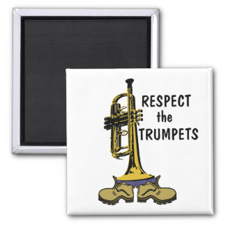 Respect the Trumpets Magnet
