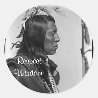 respect wisdom stickers