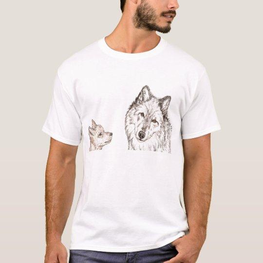 Respect Wolf T-Shirt