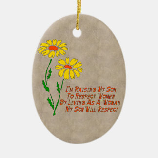 Respect Women Christmas Ornament