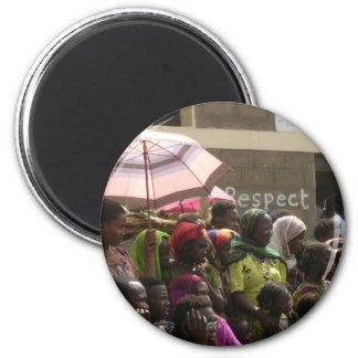 Respect Women Ethiopia Magnet