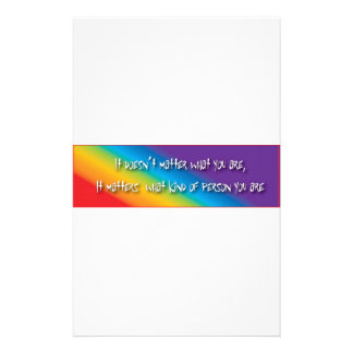 Respectful gay products custom stationery