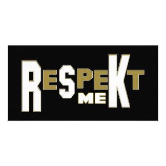 ReSpeKt Me Photo Card