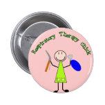 Respiratory Chick 6 Cm Round Badge