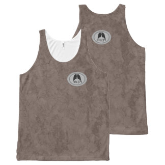 RESPIRATORY CRACKED EARTH NATURAL Slipperywindow All-Over Print Tank Top