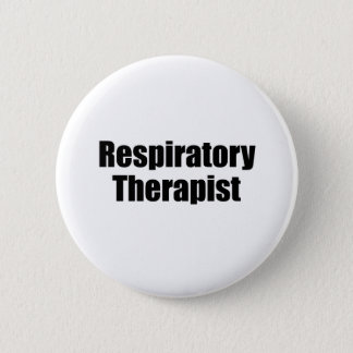 Respiratory Therapist 6 Cm Round Badge