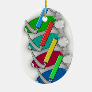 Respiratory Therapist Art Gifts Christmas Ornament