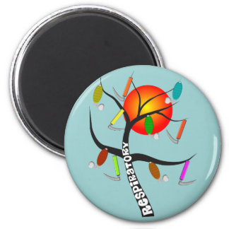 Respiratory Therapist Gifts 6 Cm Round Magnet