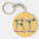 Respiratory Therapist Gifts O2 Tank Design Key Ring