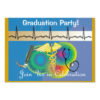 Respiratory Therapist Graduation Invitations