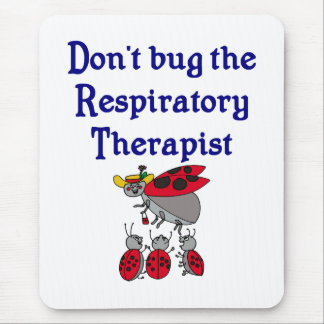 Respiratory Therapist Mouse pad