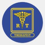 Respiratory Therapist Round Sticker