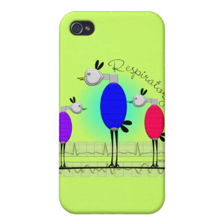 "Respiratory Therapy ""Ambu Birds"" Gifts iPhone 4 Covers"