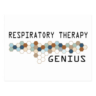 Respiratory Therapy Genius Postcard