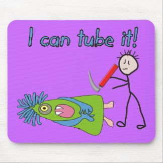 """Respiratory Therapy Gifts """"I Can Tube it!"""" Mouse Mat"""