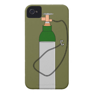 Respiratory Therapy Oxygen Tank iPhone 4 Cases