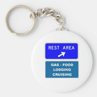 Rest Area Key Ring
