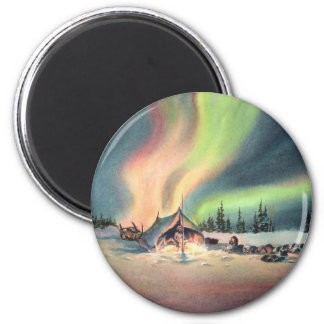 REST for the MUSHERS by SHARON SHARPE 6 Cm Round Magnet