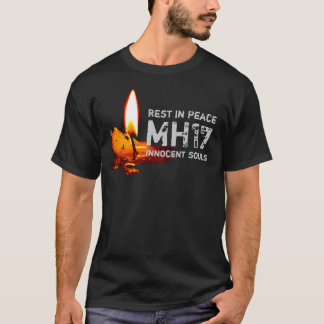 Rest in Peace MH17 (w/Candle) T-Shirt