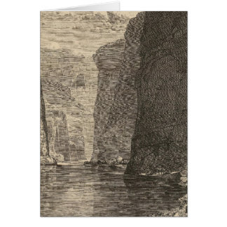 Rest Marble Canyon Greeting Card