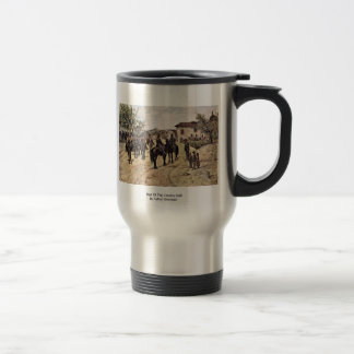 Rest Of The Cavalry Unit By Fattori Giovanni Mug