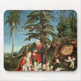 Rest on the Flight into Egypt, 1504 Mouse Mat